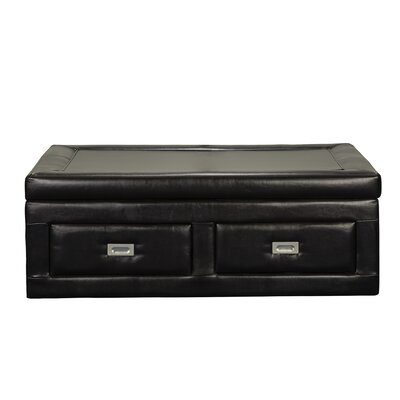 Picket House Furnishings Flynn Storage Ottoman