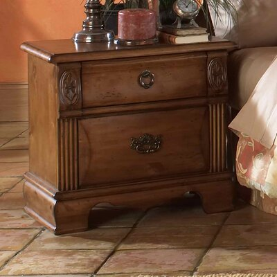 Picket House Furnishings Bella 2 Drawer Nightstand
