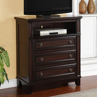 Picket House Furnishings Harwich 3 Drawer Media Chest