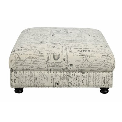 One Allium Way Narcisse Decorative Ottoman