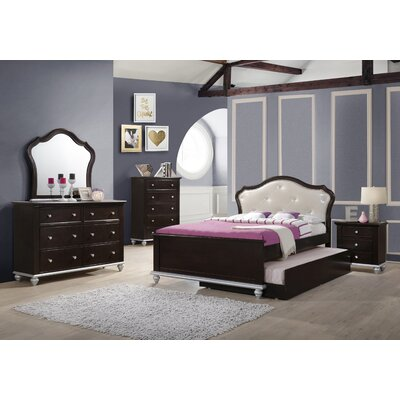 House of Hampton Johnny Panel Customizable Bedroom Set
