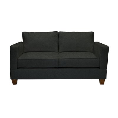 Simplicity Sofas Brandon Quick Assembly Apartment Size Half Sofa