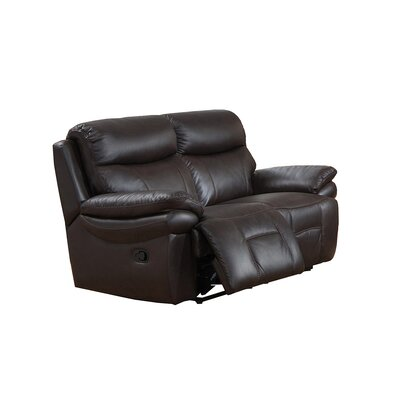 Amax Rushmore Leather Recliner Loveseat