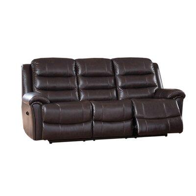 Amax Astoria Leather Reclining Sofa