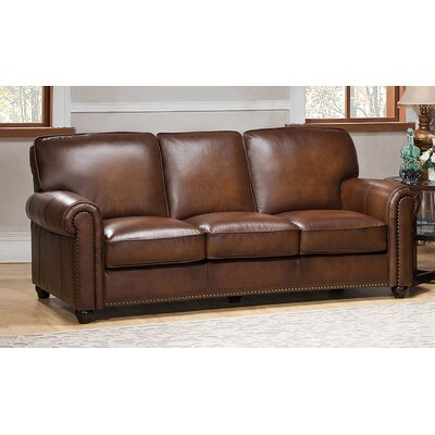 Amax Aspen 3 Piece Leather Living Room Set
