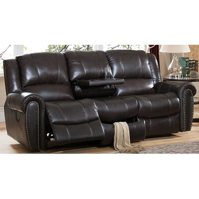 Amax Charlotte Leather Recliner Sofa