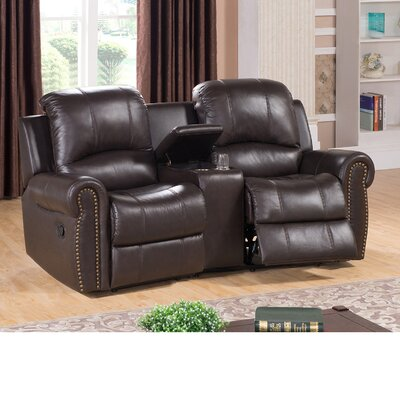 Amax Bloomington Leather Home Theater Recliner