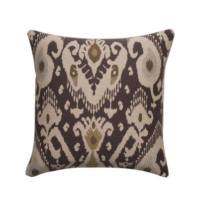 Vesper Lane Ikat Designer Filled Woven Throw Pillow & Reviews Wayfair