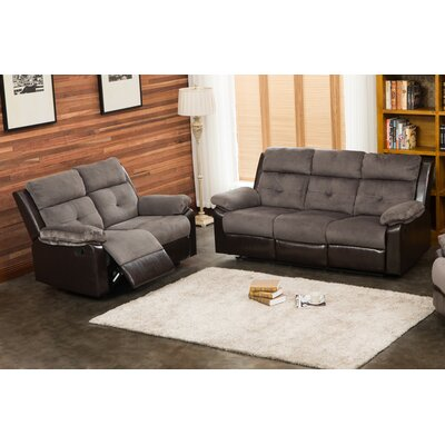 Living In Style Sherry 2 Piece Living Room Set