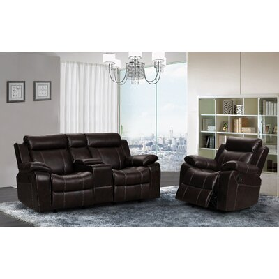 Living In Style Gabrielle 2 Piece Living Room Reclining Set
