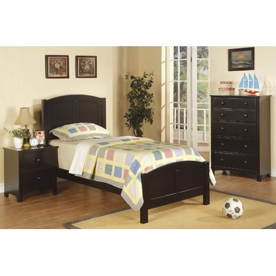 Infini Furnishings Panel 3 Piece Bedroom Set
