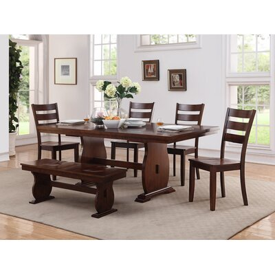 Infini Furnishings 6 Piece Dining Set