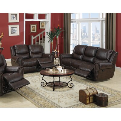 Infini Furnishings William Reclining Sofa and Loveseat Set