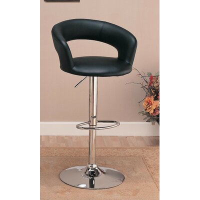 Infini Furnishings Adjustable Height Swivel Bar Stool