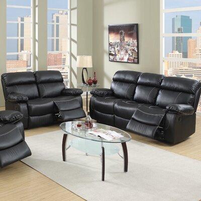 Infini Furnishings Reclining Sofa and Loveseat Set
