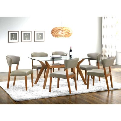 Infini Furnishings Josefine 7 Piece Dining Set
