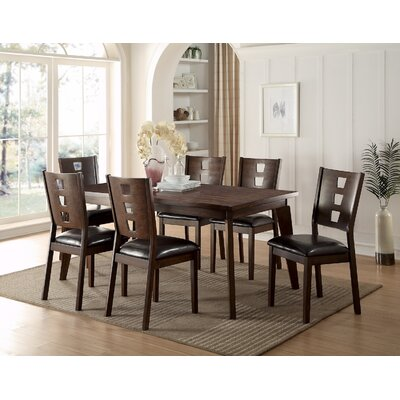 Infini Furnishings 7 Piece Dining Set
