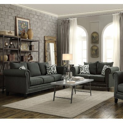 Infini Furnishings Rosemary Sofa and Loveseat Set