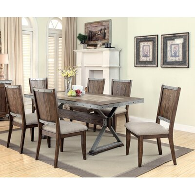Infini Furnishings Ferrand 7 Piece Dining Set