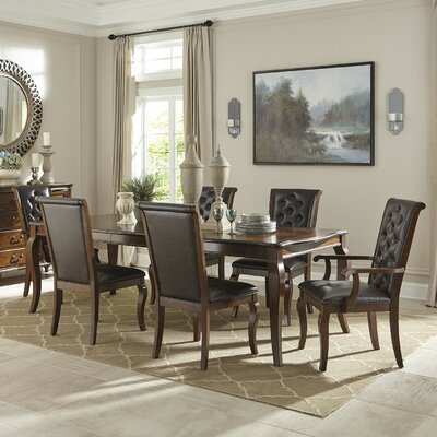 Infini Furnishings Le Havre 7 Piece Dining Set