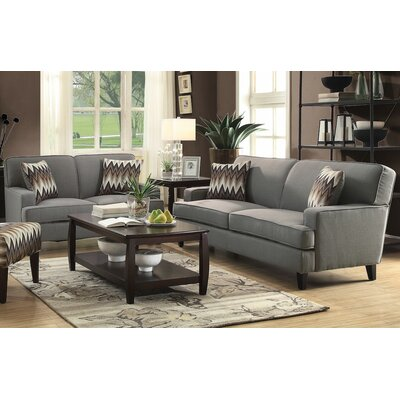 Infini Furnishings Hudson Sofa and Loveseat Set