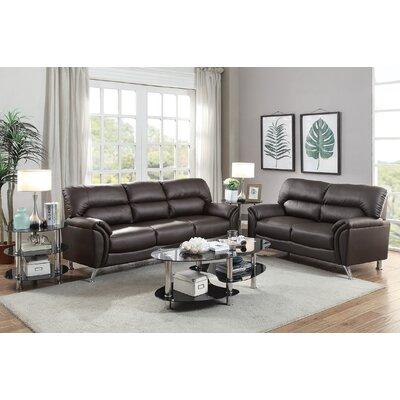 Infini Furnishings Bayshore Sofa and Loveseat Set