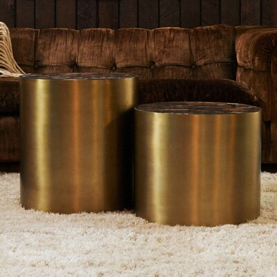 M3LD Conan Small Drum End Table