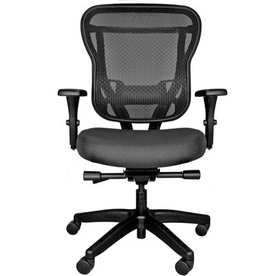 Carmel Furniture Rika Mid Back Mesh Office Chair with Arms