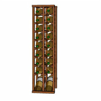 Wineracks.com Premium Cellar Series 20 Bottle Floor Wine Rack