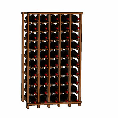 Wineracks.com Premium Cellar Series 50 Bottle Floor Wine Rack