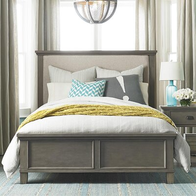Canora Grey Upholstered Panel Bed