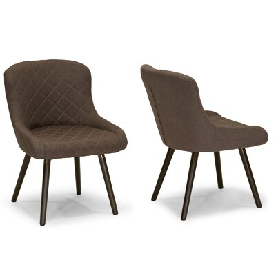Glamour Home Decor Side Chair (Set of 2)
