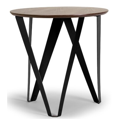 Glamour Home Decor Aimi Round End Table