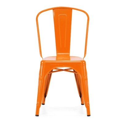 Design Lab MN Dreux Steel Side Chair (Set of 4) (Set of 4)