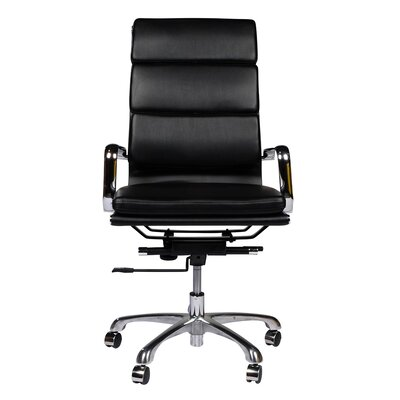 Joseph Allen High-Back Leather Executive Office Chair with Arm