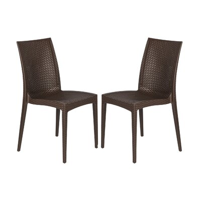 LeisureMod Mace Side Chair (Set of 2)
