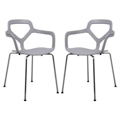 LeisureMod Carney Arm Chair (Set of 2)