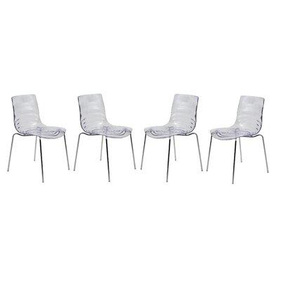 LeisureMod Astor Side Chair (Set of 4)