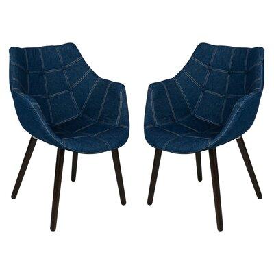 LeisureMod Milburn Armchair (Set of 2)