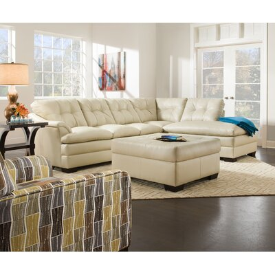 Latitude Run Ellsworth Right Hand Facing Chaise by Simmons Upholstery