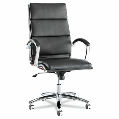 Latitude Run Virginia High Back Leather Slim Profile Executive Chair Image