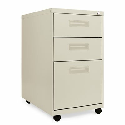 Latitude Run Bohdalov 3 Drawer Mobile Vertical File