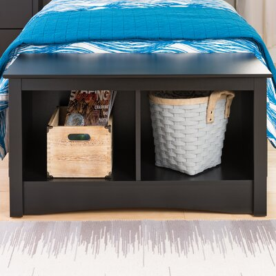 Latitude Run Wanda Storage Bedroom Bench