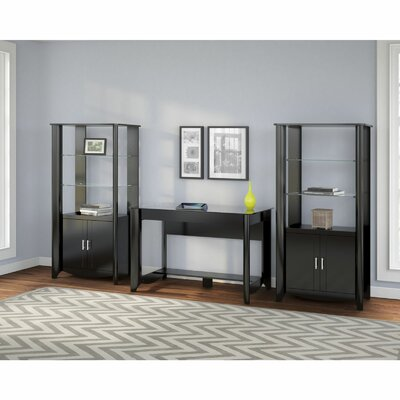 Latitude Run Wentworth 3-Piece Standard Desk Office Suite