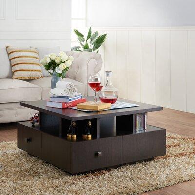 Latitude Run Square Coffee Table