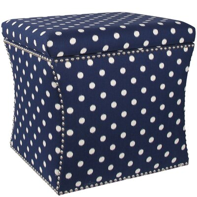 Latitude Run Adrienne Nail Button Storage Ottoman