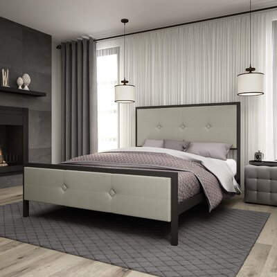 Latitude Run Pembroke Upholstered Platform Bed
