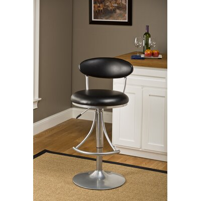 Latitude Run Elon Adjustable Height Swivel Bar Stool
