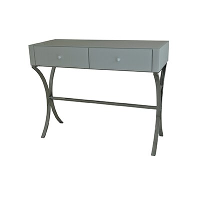 Latitude Run Avery Writing Desk with 2 Dr..