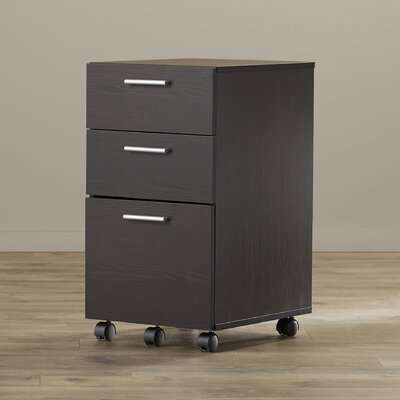 Latitude Run Magdalena 3 Drawer Mobile Fi..